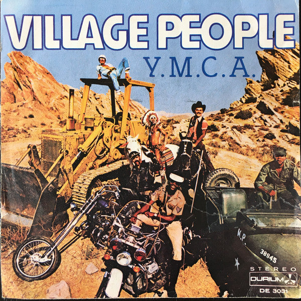 "Village People - Y. M. C. A. (7"") - USED"
