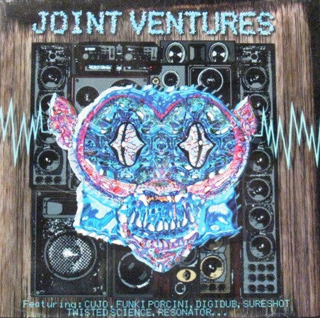 Various - Joint Ventures (2xLP, Comp) - USED
