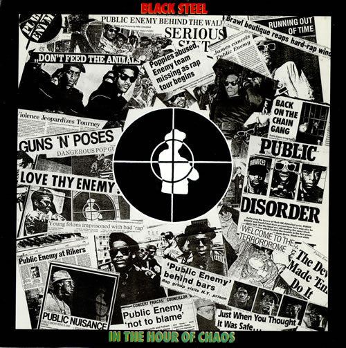 "Public Enemy - Black Steel In The Hour Of Chaos (12"") - USED"