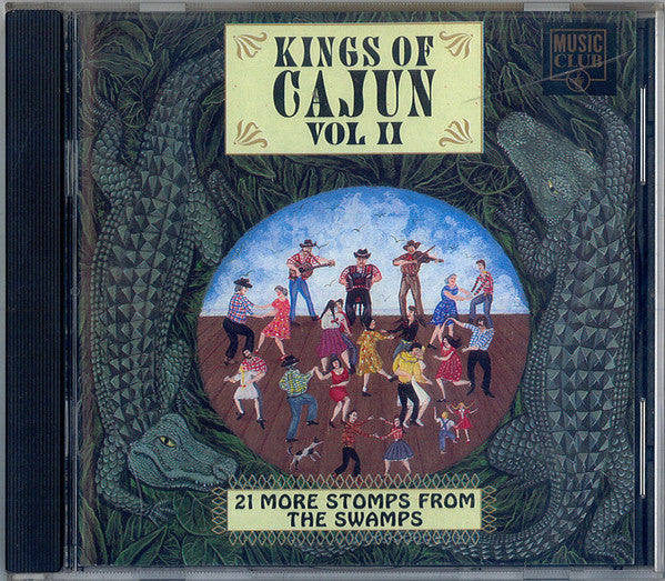 Various - Kings Of Cajun Vol II  (CD, Comp) - USED
