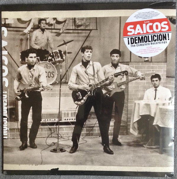 Los Saicos - ¡Demolición! The Complete Recordings (LP, Comp) - NEW