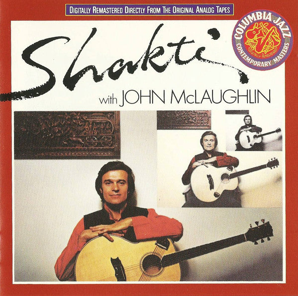 Shakti (2) - Shakti With John McLaughlin (CD, Album, RE, RM) - USED