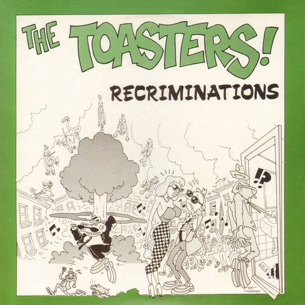 "The Toasters - Recriminations (7"", EP, RE) - NEW"