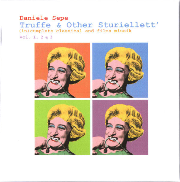 Daniele Sepe - Truffe & Other Sturiellett'. (In)cumplete Classical And Films Miusik Vol. 1, 2 & 3 (3xCD, Album, Comp, Ltd, Box) - NEW