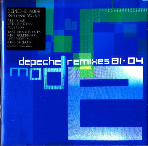 Depeche Mode - Remixes 81·04 (CD, Comp) - USED
