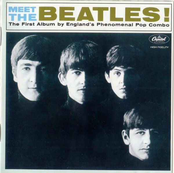 The Beatles - Meet The Beatles! (CD, Album, RM, Unofficial) - USED