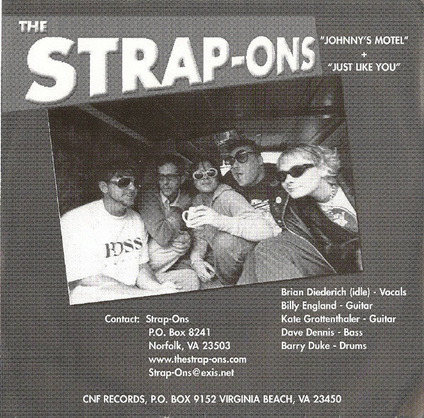 "The Strap-Ons / The Ballbusters* - The Strap-Ons / The Ballbusters (7"") - USED"