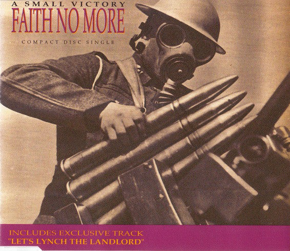 Faith No More - A Small Victory (CD, Single) - USED