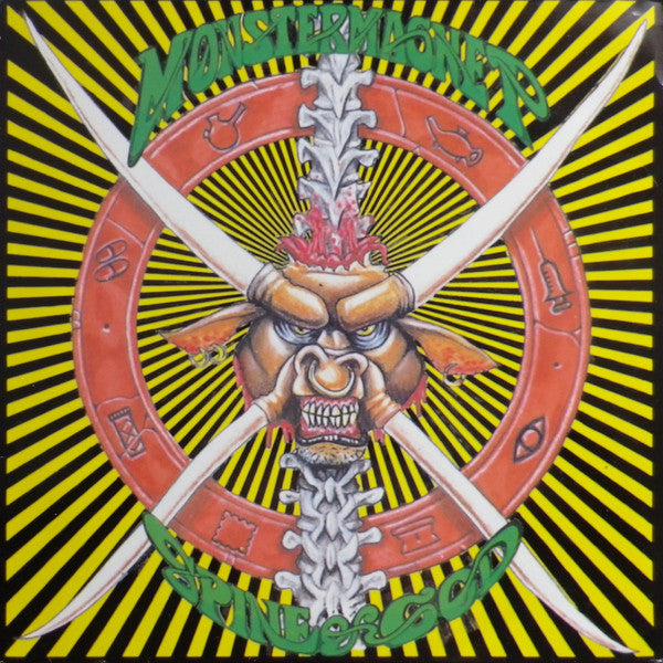 Monster Magnet - Spine Of God (LP, Album, Bla) - USED