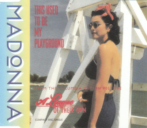 Madonna - This Used To Be My Playground (CD, Single) - USED