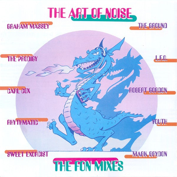The Art Of Noise - The FON Mixes (CD, Album, whi) - USED