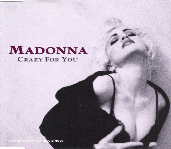 Madonna - Crazy For You (CD, Single, RP) - USED
