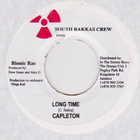 "Capleton / Ninja Man* & Bajie Man - Long Time / Adi-O (7"") - USED"
