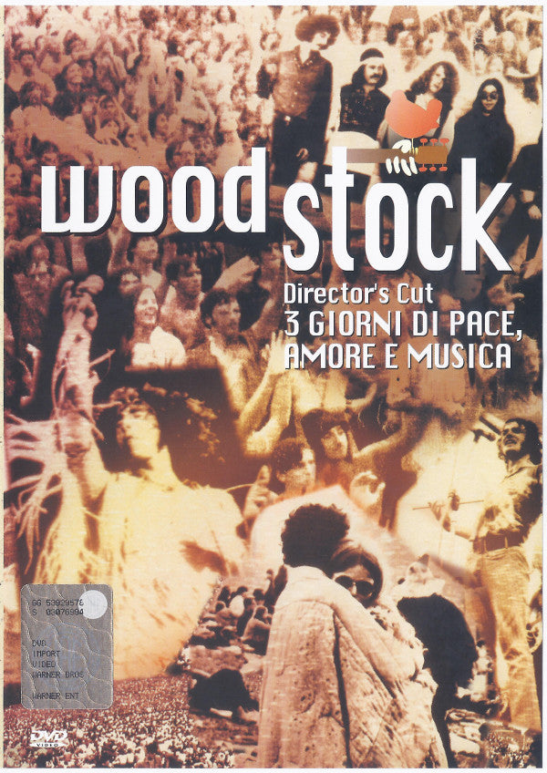 Various - Woodstock: The Director's Cut (DVD-V, PAL, Reg) - USED