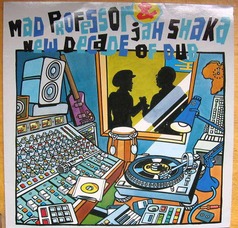 Mad Professor & Jah Shaka - New Decade Of Dub (LP) - USED