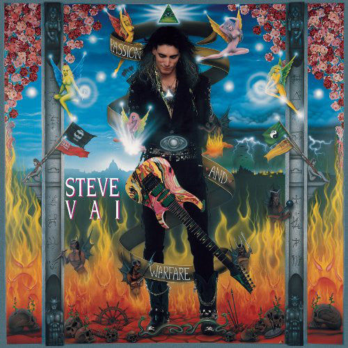 Steve Vai - Passion And Warfare (CD, Album) - USED