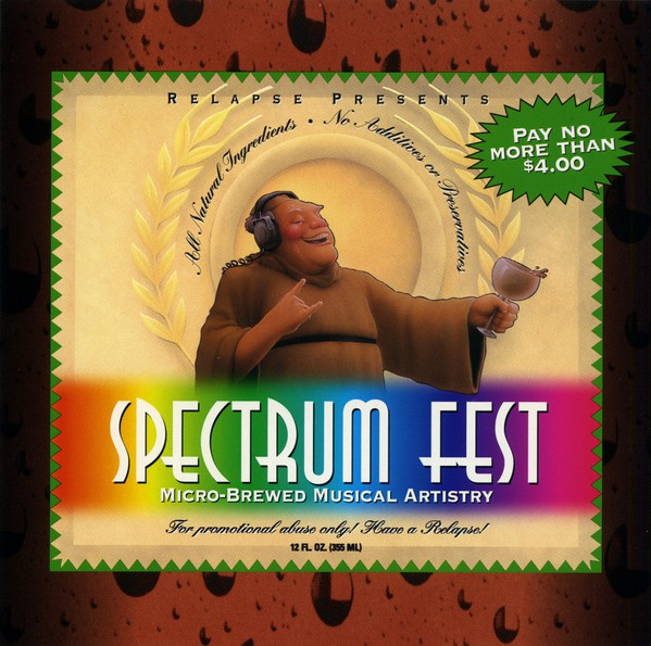 Various - Spectrum Fest: Micro-Brewed Musical Artistry (CD, Comp, Promo, Smplr) - USED