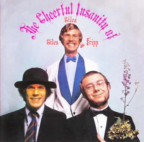 Giles, Giles And Fripp - The Cheerful Insanity Of Giles, Giles And Fripp (LP, Album, RE) - NEW