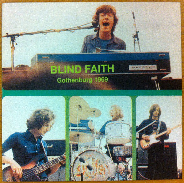 Blind Faith (2) - Gothenburg 1969 (CD, Unofficial) - USED