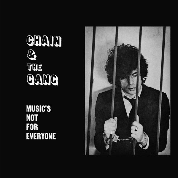 Chain & The Gang* - Music's Not For Everyone (CD, Album, Gat) - NEW