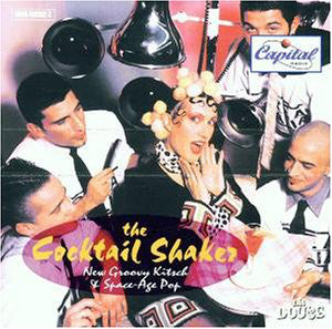 Various - The Cocktail Shaker. New Groovy Kitsch & Space-Age Pop (CD, Comp) - USED