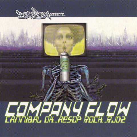 Company Flow / Cannibal Ox / Aesop Rock / RJD2 - Def Jux Presents... (CD, Smplr) - NEW