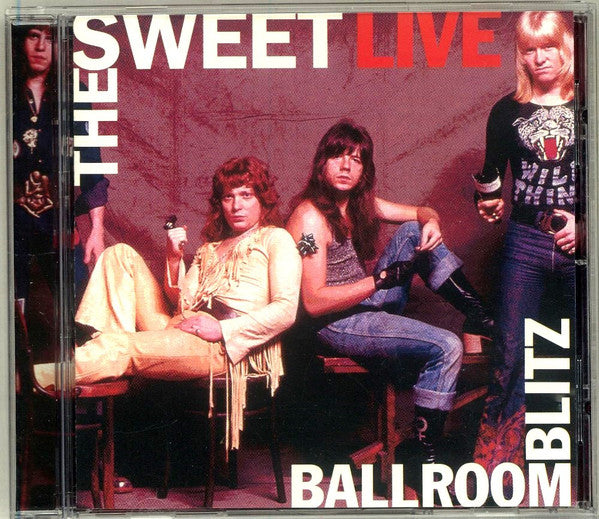 The Sweet - Live Ballroom Blitz (CD, Comp) - USED