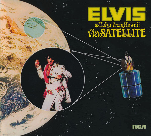 Elvis Presley - Aloha From Hawaii Via Satellite (2xCD, RE, RM, Leg) - USED