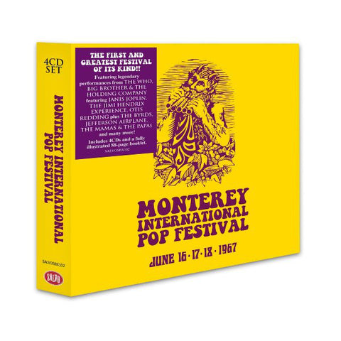 Various - Monterey International Pop Festival (June 16-17-18 1967) (4xCD, Comp, RE + Box) - USED