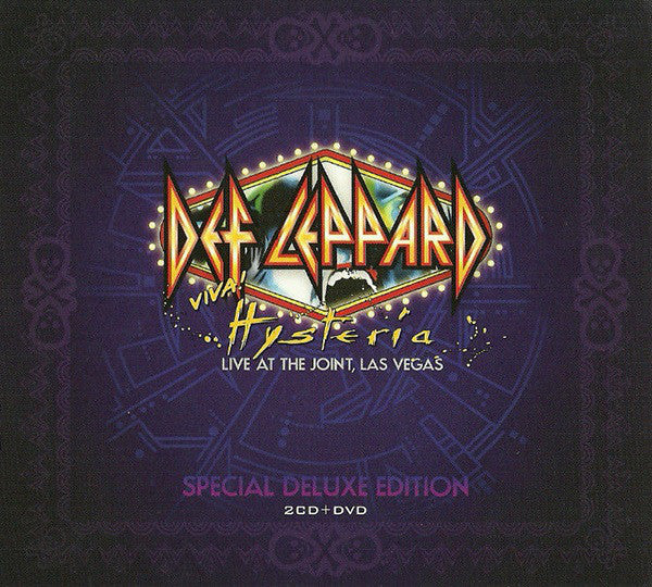 Def Leppard - Viva! Hysteria - Live At The Joint, Las Vegas (DVD-V, NTSC + 2xCD, Album + Dig) - USED