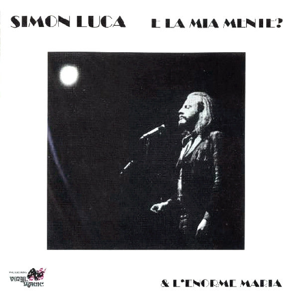 Simon Luca - E La Mia Mente? (CD, Album, RE, RM) - USED