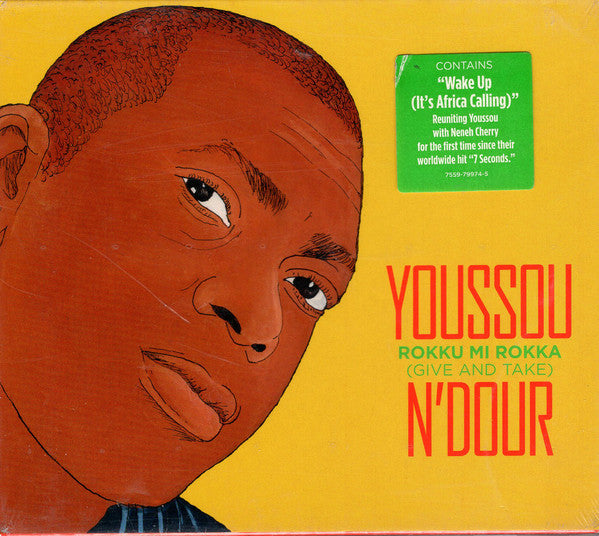 Youssou N'Dour - Rokku Mi Rokka = Give And Take (CD, Album) - USED