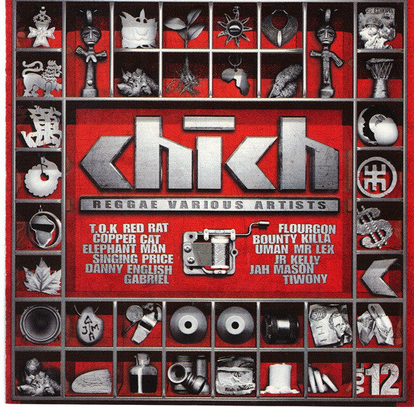 Various - Reggae Various Artists - Chich Vol.12 (CD, Comp) - NEW