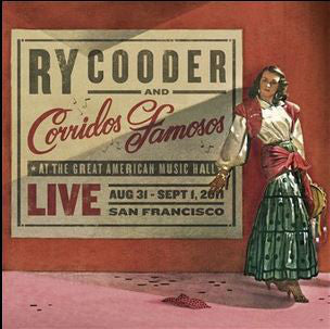 Ry Cooder And Corridos Famosos - Live (CD, Album) - NEW