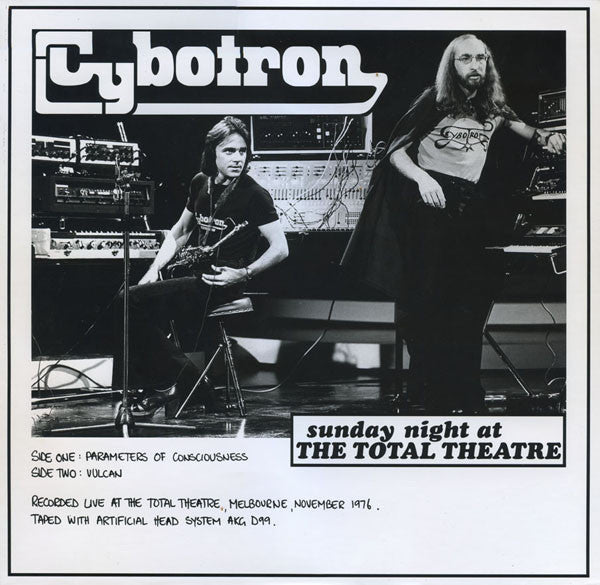 Cybotron (2) - Sunday Night At The Total Theatre (LP, Album, RE) - NEW