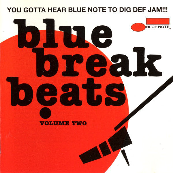 Various - Blue Break Beats Volume Two (CD, Comp, Mono) - USED