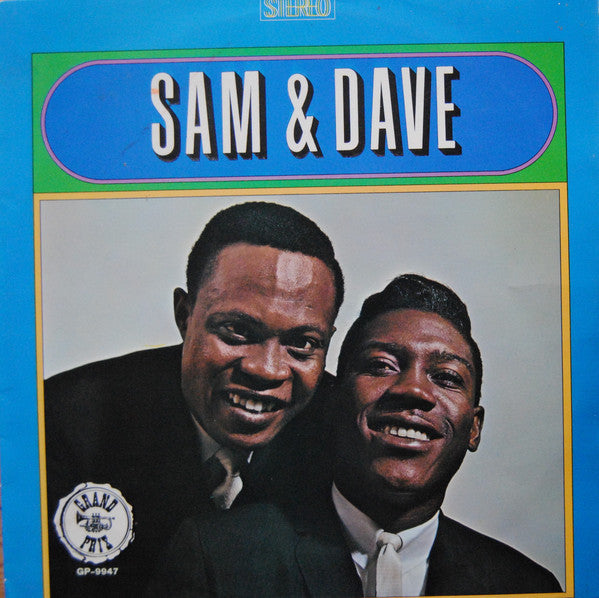 Sam & Dave - Sam & Dave (LP, Comp) - USED