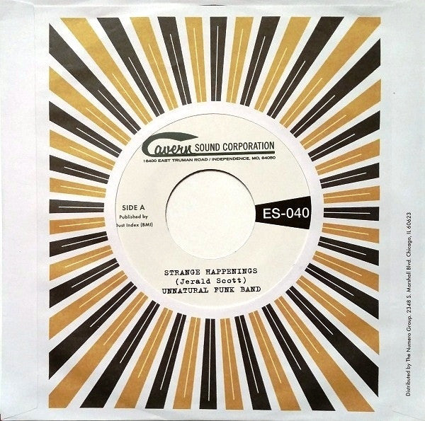 "Unnatural Funk Band - Strange Happenings / Living In The Past (7"", Single) - NEW"