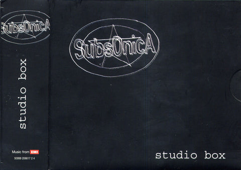 Subsonica - Studio Box (5xCD, Comp) - NEW