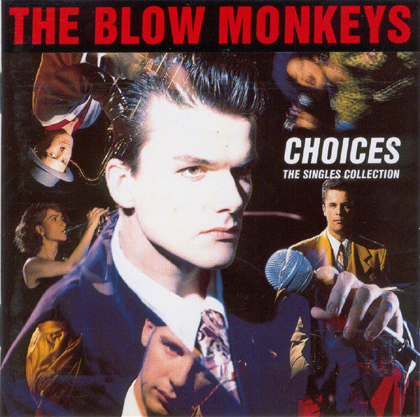 The Blow Monkeys - Choices - The Singles Collection (CD, Comp) - USED