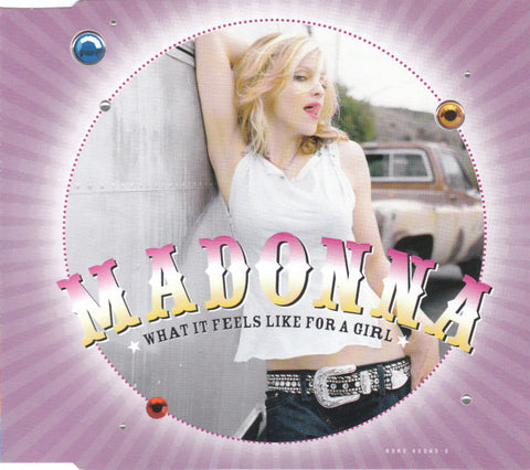 Madonna - What It Feels Like For A Girl (CD, Single, CD2) - USED