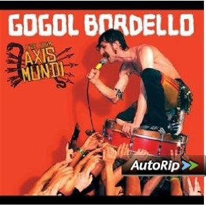 Gogol Bordello - Live From Axis Mundi (CD, Album + DVD-V) - NEW