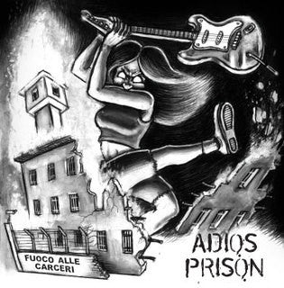 Various - Adios Prison (CD, Comp) - USED