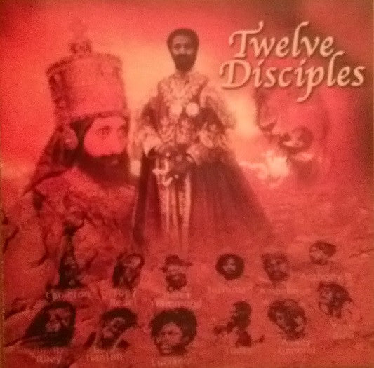 Various - Twelve Disciples On A Mission For Sellasie I (CD, Album) - USED