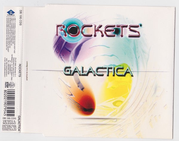 Rockets - Galactica (CD, Maxi) - USED