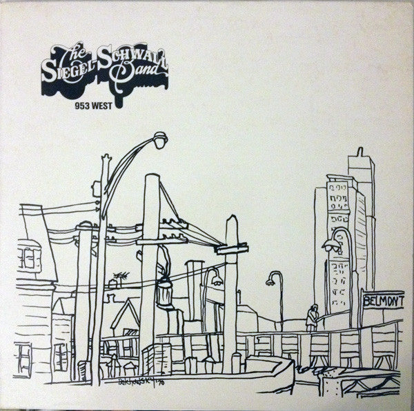The Siegel-Schwall Band - 953 West (LP, Album, RE) - USED