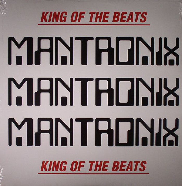 Mantronix - King Of The Beats : Anthology 1985 - 1988 (2xLP, Comp, RE) - NEW