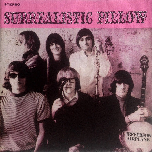 Jefferson Airplane - Surrealistic Pillow (CD, Album, RE, RM) - NEW