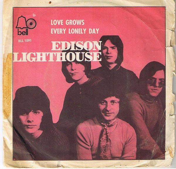 "Edison Lighthouse - Love Grows (Where My Rosemary Goes) (7"", Single) - USED"