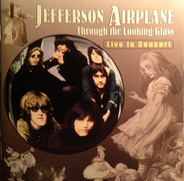 Jefferson Airplane - Through The Looking Glass (CD, Comp) - USED